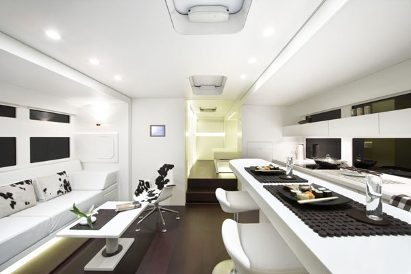 luxury rv mobile home design hits the road by a cero architecture