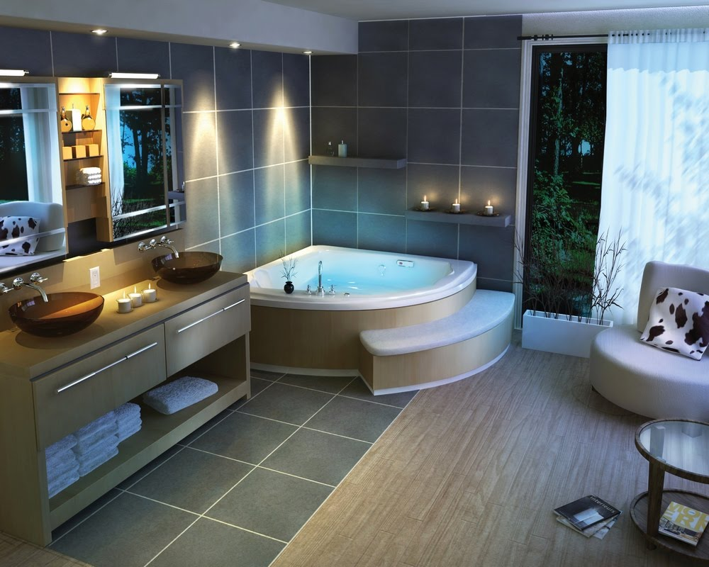 Chic Bathroom Design Decor