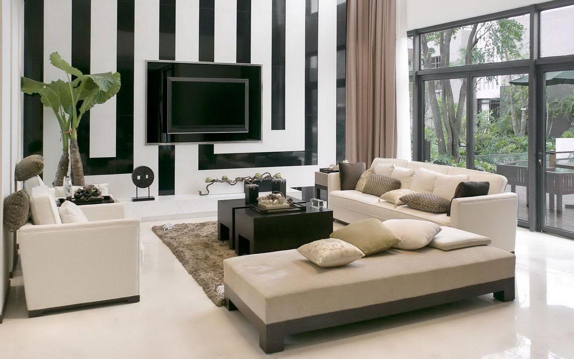 Modern Home In Interior Living Room Design Decor Collector