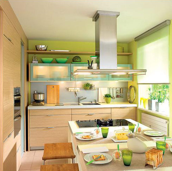 small-kitchen-decorating
